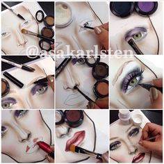 The Process Of A Face Chart