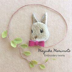 いよいよ本日21:00よりネット販売会!! ショップは、「cherin 秘密の雑貨」でグーグル検索か、自己紹介のリンクからどうぞ♪ 現在、商品プレビュー中です うちの子オーダーもお受付する予定です #handmade #DIY #embroidery #ハンドメイド #broderie #刺繍 #вышивка #イラスト #자수 #うさぎ #rabbit