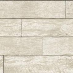 Wood Planks Self Adhesive Wallpaper in Natural design by Tempaper – BURKE DECOR