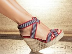 Tips on How to Wear Wedges …  Wedge shoes look great with both long and short dresses.