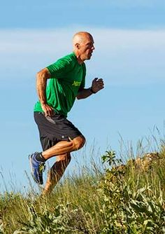 """Jackson Hole Mountain Resort is offering two Running Academy camps this summer. The programs will be led by world renowned running coach and Marmot Athlete Eric Orton, coach of """"Born to Run"""" author and athlete Chris McDougall."""