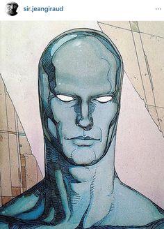 Moebius Jean Giraud, Moebius Comics, Moebius Art, Rare Comic Books, Comic Books Art, Book Art, Art And Illustration, Illustrations Posters, Silver Surfer Comic