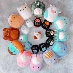 Cute Stuffed Animals, Cute Animals, Figet Toys, Cool Fidget Toys, Cute Squishies, Anime Summer, Fun Sleepover Ideas, Frog Art, Homemade Playdough