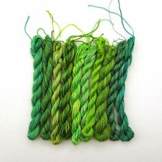 green green green green green! #etsy #crafts #thread