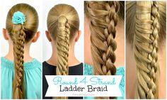 Round 4 Strand Ladder Braid | BabesInHairland.com