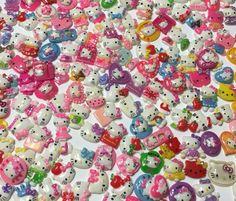 Assorted Kawaii Hello Kitty Cabochons Decoden    eBay