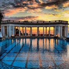 Neptune Pool, Hearst Castle, San Luis Obispo, California