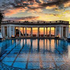 Neptune Pool, Hearst Castle, San Luis Obispo, California