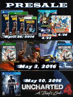 LANZAMIENTOS NUEVOS!  Pre-Orden en www.latamgames.com  #battleborn #videojuegos #lanzamientos #proveedores #distribuidores#ps4 #xbox #juegos #latamgames #venta #Wiiu #XboxOne #Borderlands#Uncharted #Sega #3DS #HashTag #mayoristas #PlayStation