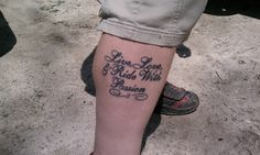 ? seen at Swope trail head, Kansas City Mo by Squirrels Cycling Tattoo Collection, via Flickr