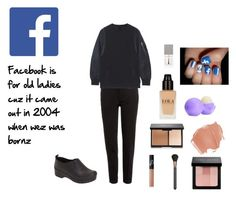 """Facebook Outfit"" by jumbleguffins301 on Polyvore featuring Etro, Givenchy, Eos, NARS Cosmetics, MAC Cosmetics, Bobbi Brown Cosmetics, Dansko, women's clothing, women and female"