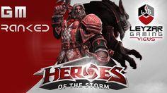Heroes of the Storm Ranked Gameplay - Greymane Wolf Again (HotS Greymane...