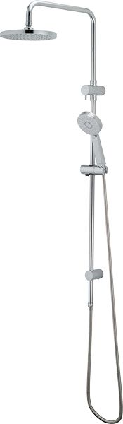 Add a little luxury to your bathroom with the Krome 3F Twin Rail Shower. This rail is under $400 with a 25 Year Warranty.