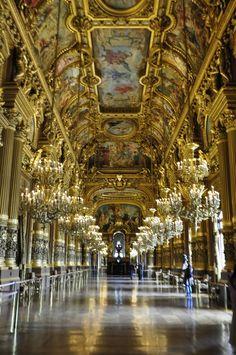 Opéra Garnier, the foyets, Paris by Maelo Paris