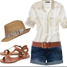 summer outfit! Perfect holiday look