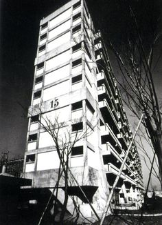 Chapter Apartment Buildings from the Latter Half of the Century – International Projects Skyscraper, Multi Story Building, Exterior, Projects, Log Projects, Skyscrapers, Outdoor Spaces