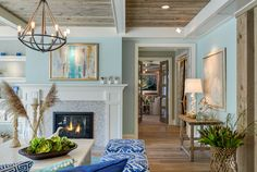 coastal living room | Great Neighborhood Homes