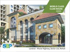 A world class club house by SBP Group is truly a place to connect and socialize with indoor and outdoor facilities like 3 star banquet, swimming pool, play school, aerobics, gym, squash court and much more.  Visit: www.sbpgroup.in, Call: 9316005252 & Email: info@sbpgroup.in  #SBPGroup #SBPGroupMohali #FlatsinMohali