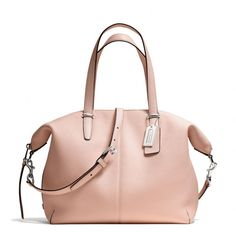 The Bleecker Cooper Satchel In Pebbled Leather from Coach