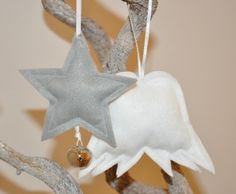 Zu Gast Lütte Jules: DIY Filzanhänger für den Weihnachtsbaum - modage