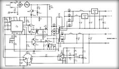 Multiple output switching power supply circuit #Schematic Diagram