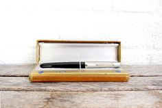 RESERVED Vintage Parker 51 Fountain Pen in Presentation Box - For Restoration - Fathers Day Gift