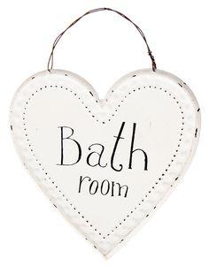 Bathroom sydänkyltti