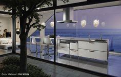 Cozinha com uma vista linda!
