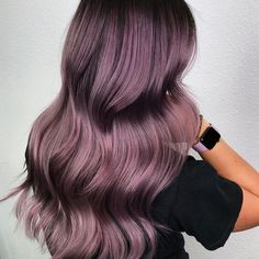 hairstyle ideas 2019 hairstyle ideas african american hairstyle ideas reception ideas for reception ideas medium ideas for quinces hairstyle ideas uk ideas low ponytail Cute Hair Colors, Hair Color Purple, Hair Dye Colors, Cool Hair Color, Damp Hair Styles, Long Hair Styles, Lavender Hair, Lavender Fields, Aesthetic Hair