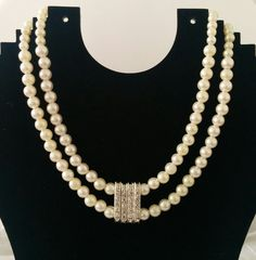 Cream Pearl Necklace £7.99