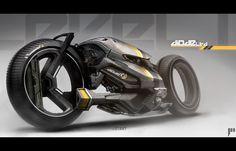 Brazilian website, Coroflot's Contest for best Urban Cyberpunk Bike. Winner, Jon McCoy's Diode.