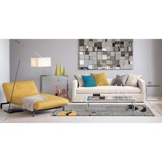 Sofa + bed you can't get this year smart glass top console table in accent tables | CB2