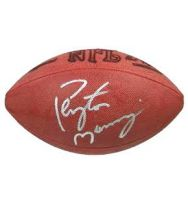 Peyton Manning autographed NFL football