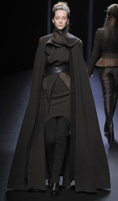 Totally a Sith. Source: Haider Ackermann Fall 2010 Runway Pictures