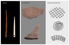 prehistoria,agujas, plaquetas parpallo, pensamiento abstracto