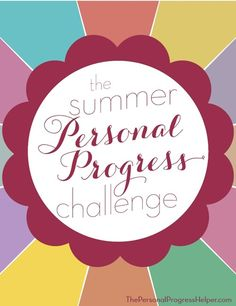The Summer Personal Progress Challenge Weekly Study Packet from The Personal Progress Helper