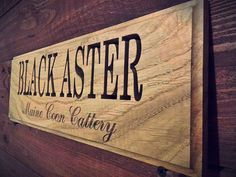 """BLACK ASTER """"Maine Coon Cattery"""""""