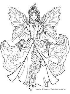 Detailed Coloring Pages for Adults | Court Fairy 2 www.pheemcfaddell.com