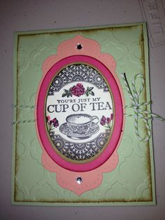 Stampin' Up Tea Party