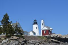 Pemaquid Point Lighthouse ~  Pemaquid,Maine Great place to find good lobster right off the boats.
