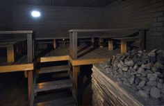 Hangaslahden sauna - Savusauna