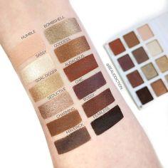 Persona Cosmetics Identity Palette Swatches