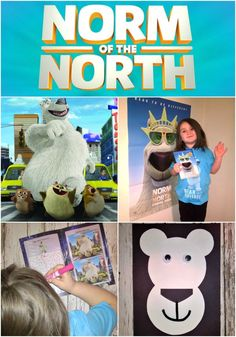 Taking the Plunge like Norm of the North plus $100 Fandango gift card giveaway! #BreakTheNorm #IC (ad)