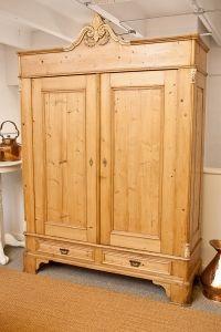 Antique North German Late Biedermeier Armoire in Pine, c. 1850 Antiques For Sale, Vintage Antiques, Armoire, Antique Pine Furniture, Home Look, American, Decor Styles, Collection, Farm House
