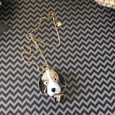 """Betsey Johnson Style Puppy Necklace Chain measures 13"""". So cute! Jewelry Necklaces"""