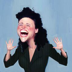 Elaine Benes by Cowboy-Lucas.deviantart.com