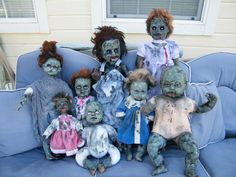 zombie babies and children