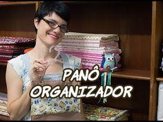 Passo a Passo - Paninhos e Afins - Panô Organizador - Lê Rey - YouTube