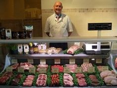 At Crockford Bridge Farm Shop near Weybridge, Surrey, you'll find Maurice Jones and Son Butchers selling his selection of naturally fed and fully traceable meat and poultry, as well as award-winning sausages. http://localfoodbritain.com/surrey/shops/farm-shops/crockford-bridge-farm-shop/