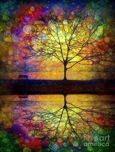 Reflected Dreams - digital art by ©Tara Turner (via FineArtAmerica)